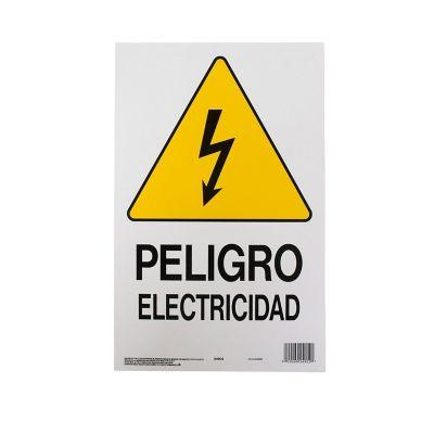 Senal Peligro Electricidad 25x36