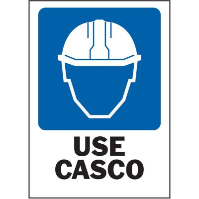 Senal Use Casco 25x36