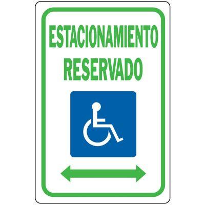 Senal Estacionamiento Reservado