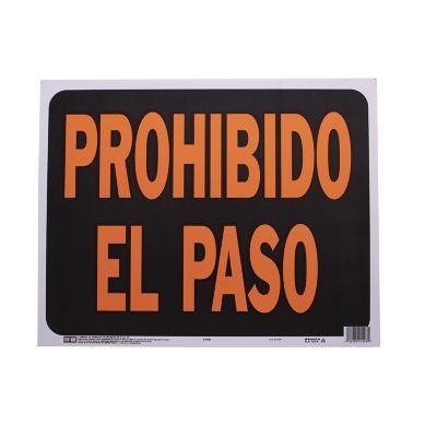 Senal Jumbo Prohibido el Paso