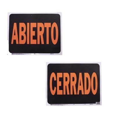 Senal Jumbo Abierto/Cerrado (Reversible)