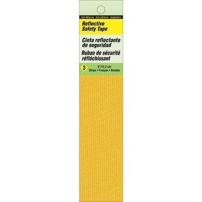 Cintas de Seguridad autoadherible color amarillo