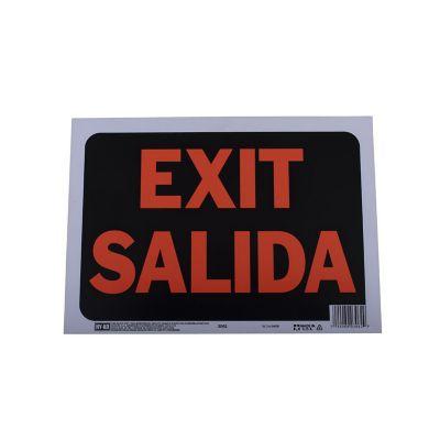 Senal Bilingue Exit/Salida