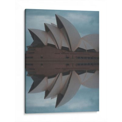 Lienzo decorativo Opera de  Sydney 80x60 cm