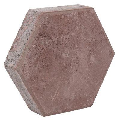 Adoquín hexagonal rosa  24x24x6cm