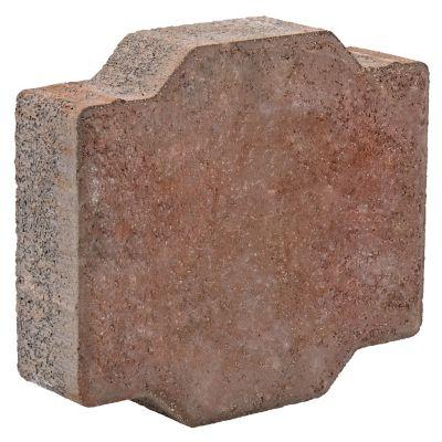 Adoquín cruz romana rosa 22.5x25x6 cm