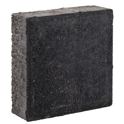 Adoquín cuadro negro 20x20x6cm