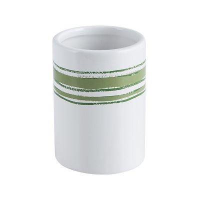 Vaso de baño raya verde