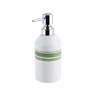 Dispensador de jabón raya verde