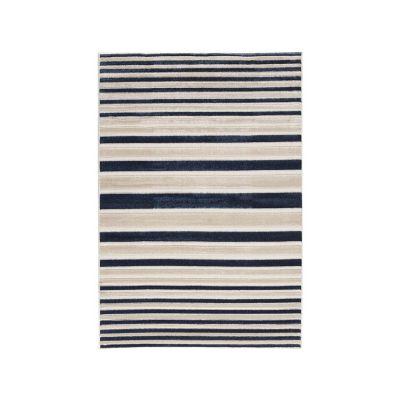 Tapete Reflex raya azul 120x170cm
