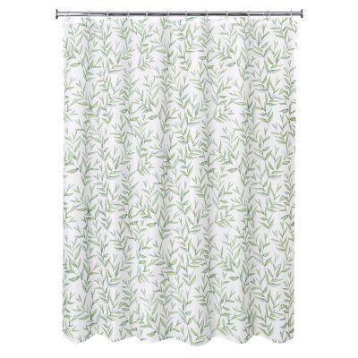 Cortina de baño hojas 178x180cm