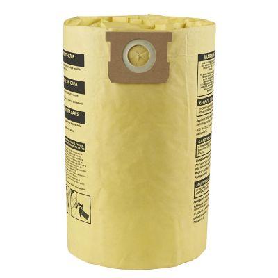 Bolsa filtrante 9067333 bicapa de alta eficiencia para aspiradoras Shop-Vac de 15-24 Galones (polvo fino)
