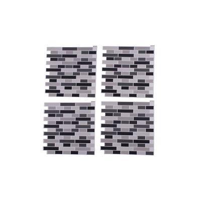 Mosaico autoadherible gris