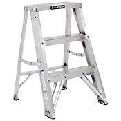 Escalera taburete aluminio
