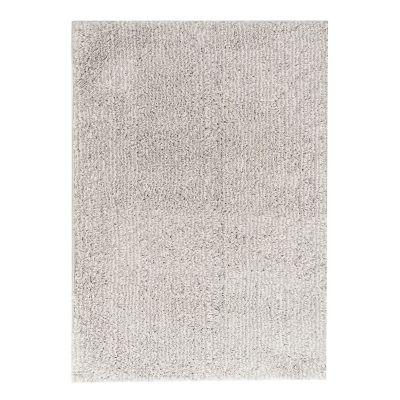 Tapete Soft Shag ivoty/gris 133x190cm