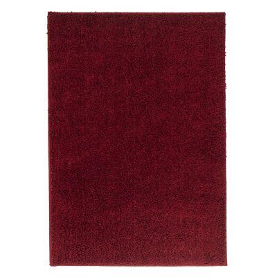 Tapete Soft Shag rojo 133x190cm