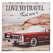 Lienzo Love Travel 60x60cm