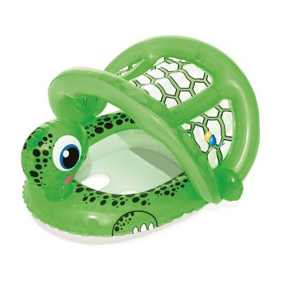Tortuga inflable con asiento