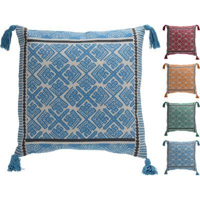 Cojín diseños 45x45 cm colores surtido