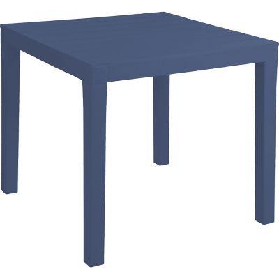 Mesa cuadrada 79x79 cm azul