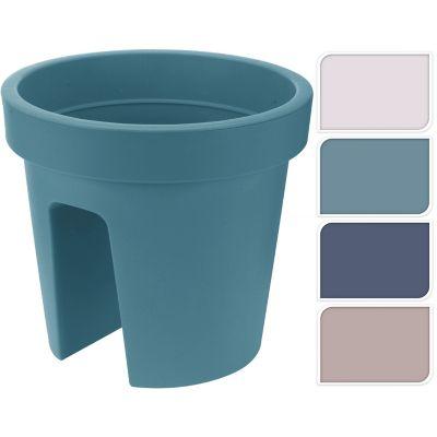 Macetero para balcón 28 cm color surtido