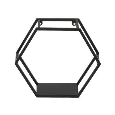 Repisa 3d metal 30x12x34