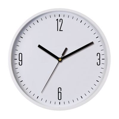 Reloj de pared basic blanco 22cm