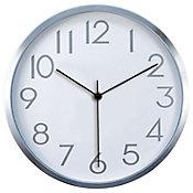 Reloj de pared Cool plata 30cm