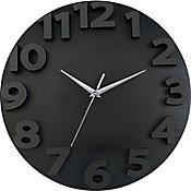 Reloj de pared 3D go negro 50cm