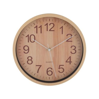 Reloj de pared Wooden natural 29cm