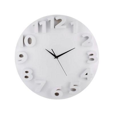 Reloj de pared 3D go blanco 50cm