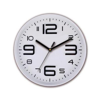 Reloj de pared Big number azul 30cm