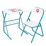 Escritorio mesa con silla Azul