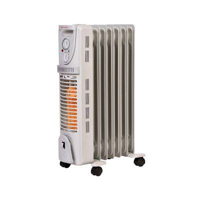 Calefactor radiador relleno de aceite