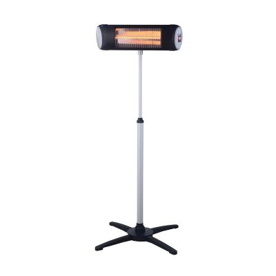 Calefactor de pedestal electrico para exterior