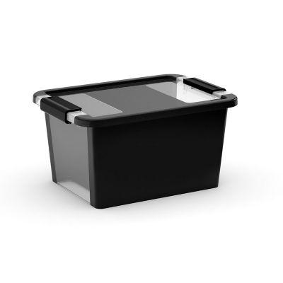 Contenedor de plastico bi box pequeño negro