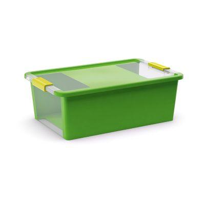 Contenedor de plastico bi box mediano verde