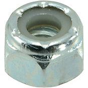 Tuercas gruesas de inserción de nailon y zinc1/4-20,1 PZ