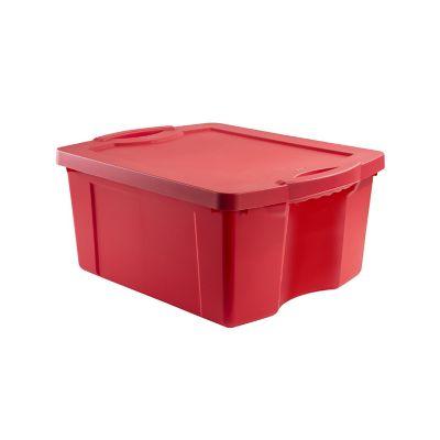 Caja organizadora 55lts rojo