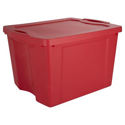 Caja organizadora 75lts rojo