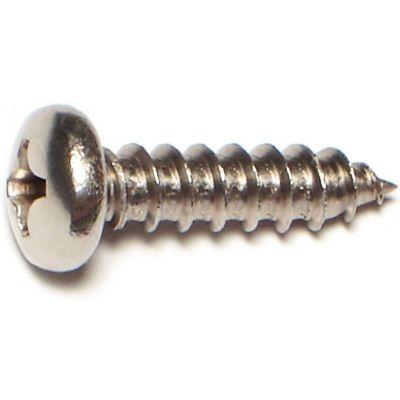 Tornillos cabeza chanfleada para metal acero inox. 14 x 1 1PZ