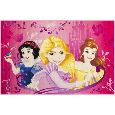 Tapete Disney Princesas  42x67 cm