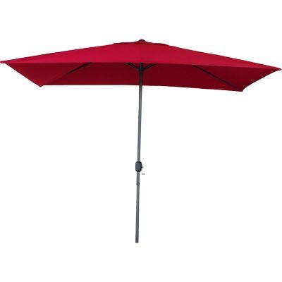 Sombrilla roja 2x3 m