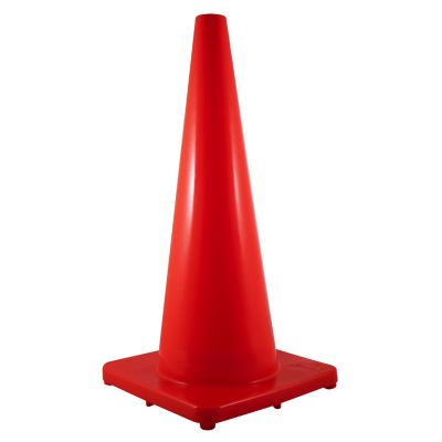 Cono vallen para control vehicular de pvc naranja de 28 in (71.12 cm)