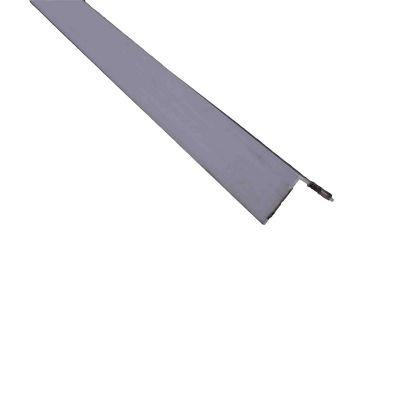 Ángulo parejo liso autoadh 20mm PVC blanco 1m. Protección de esquinas en paredes y columnas.