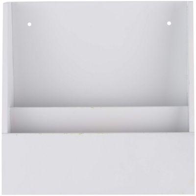 porta recibos blanco