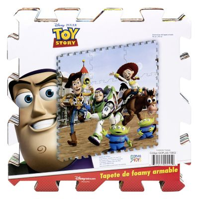 Tapete de goma armable Toy Story 96x96 cm
