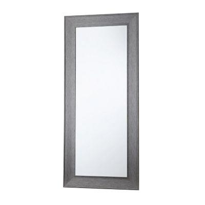 Espejo decorativo negro 80x180 cm.