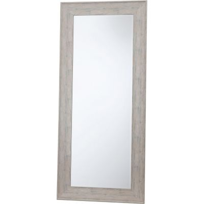 Espejo decorativo gris 80x180 cm.