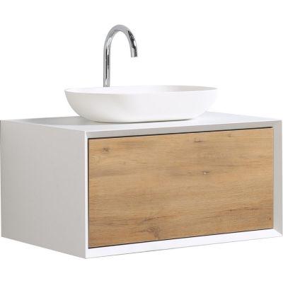 Mueble baño fiona blanco 80 cm